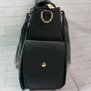 Pink Haley Bags - NWT Classic Satchel Bag in Black